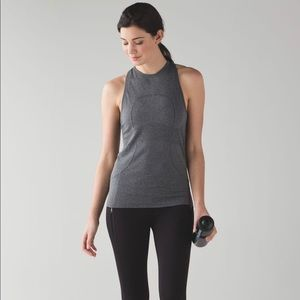 Lululemon Size 6 Swiftly Tech High Neck Racerback
